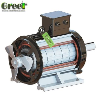 50 kw Low rpm 3 phase permanent magnet generator / alternator for wind turbine